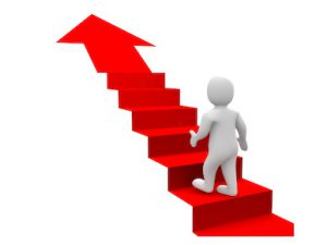 Stair step plan in mlm business and software