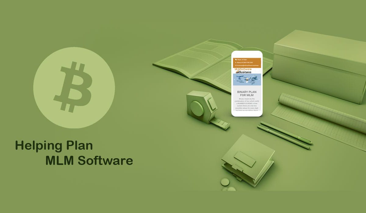 Helping plan MLM software and its special features