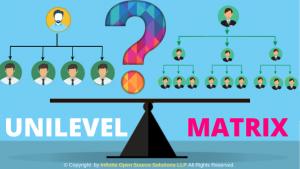 Uni Level vs Matrix MLM Plan