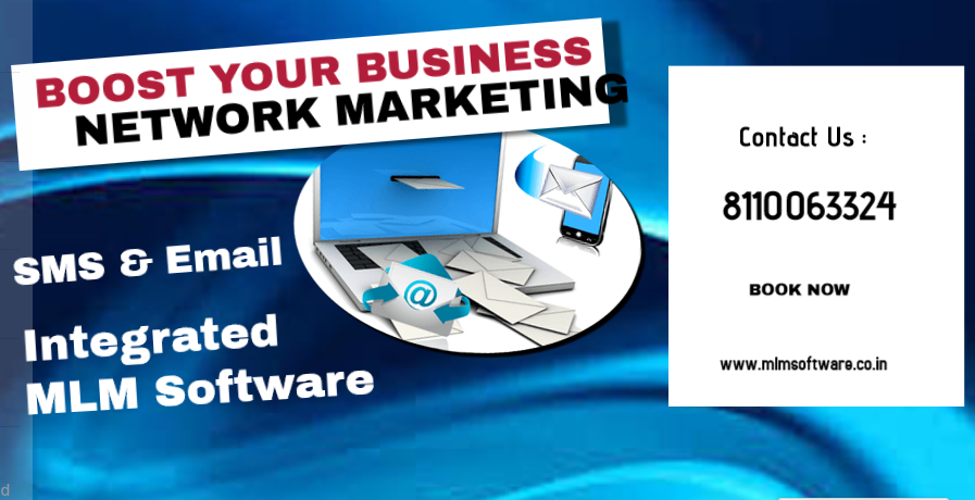 SMS & Mail integrated MLM Software